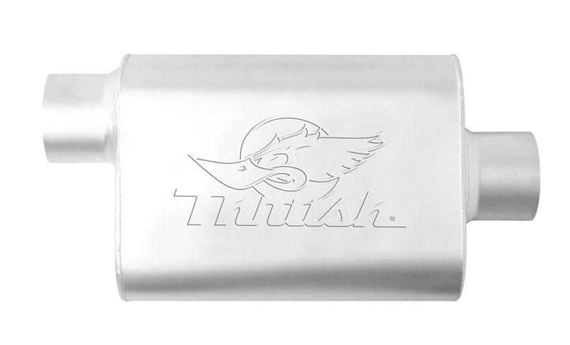 Exhaust Muffler-Super Turbo Universal Muffler Dynomax 17733